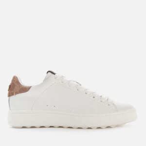 Coach Women's C101 Leather Low Top Trainers - White/Tan