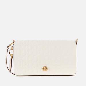 Coach Women's Signature Dinky Cross Body Bag - Chalk