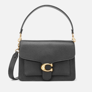 99ec15ca85 Coach Women's Mixed Leather Tabby Shoulder Bag - Midnight Navy ...