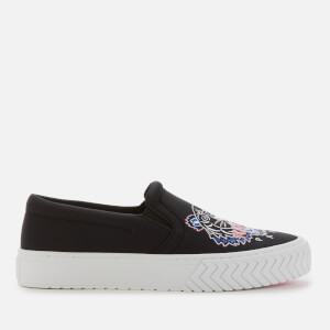 KENZO Women's K Skate Tiger Slip-On Trainers - Black