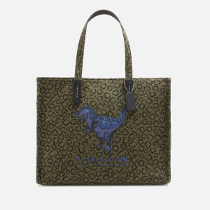 Coach Rexy by Zhu Jing Yi Men's 42 Tote Bag - JI/Army Green
