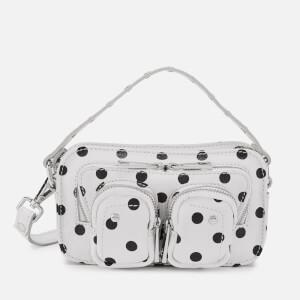 Núnoo Women's Helena Dots Cross Body Bag - White/Black