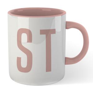 STD Mug - White/Pink