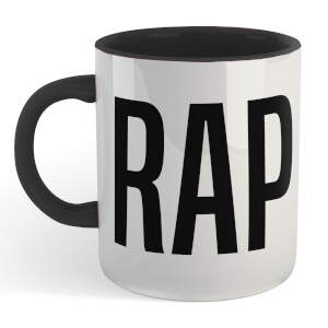 Crap Mug - White/Black