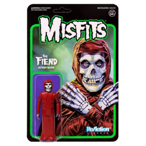 Super7 Misfits Wave 2 The Fiend Crimson ReAction Figure