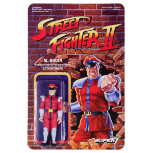 Super7 Street Fighter M Bison ReAction Figure