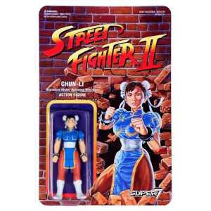 Super7 Street Fighter Chun Li ReAction Figure