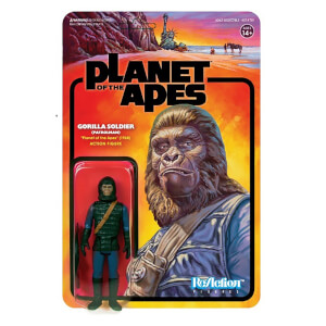 Super7 Planet of the Apes Wave 2 Ape Soldier 2 (Patrolman) ReAction Figure
