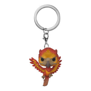 Llavero Pocket Pop! - Fawkes - Harry Potter