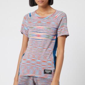 adidas X Missoni Women's City Runners Unite Short Sleeve T-Shirt - Multicolour