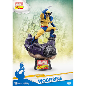 Beast Kingdom Marvel Comics D-Stage PVC Diorama X-Men Wolverine 15 cm