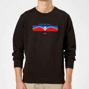 Captain Marvel Sending Sweatshirt - Black