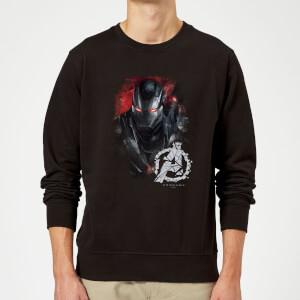 Sweat-shirt Avengers Endgame War Machine Brushed Homme - Noir