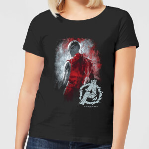 Avengers Endgame Nebula Brushed Women's T-Shirt - Black