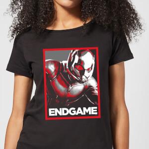 T-Shirt Avengers Endgame Ant-Man Poster  - Nero - Donna