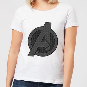 T-Shirt Avengers Endgame Iconic Logo - Bianco - Donna