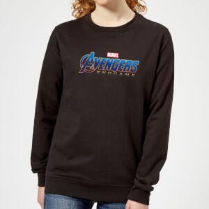 Avengers Endgame Logo Women's Sweatshirt - Black