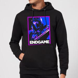 Avengers Endgame Ronin Poster Hoodie - Black