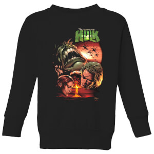 Marvel Incredible Hulk Dead Like Me Kids' Sweatshirt - Black