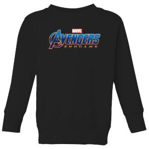 Avengers Endgame Logo Kids' Sweatshirt - Black