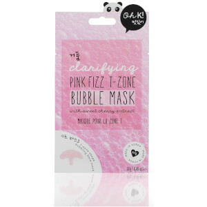 Oh K! Pink Fizz T-Zone Bubble Mask 23ml