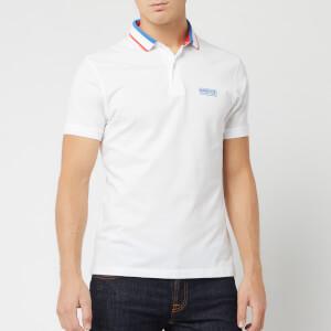 Barbour International Men's Shift Polo Shirt - White