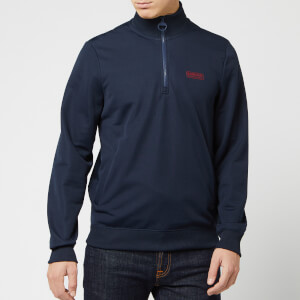 Barbour International Men's Half Zip Track Jacket - Navy