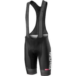 Castelli Giro D'Italia Bib Shorts - Black/Pink