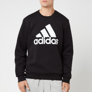 adidas Men's Mh Bos Crew Neck Sweatshirt - Black