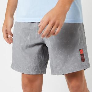 "adidas Men's Saturday 7"" Shorts - Grey"