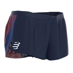Compressport Racing Split Overshorts