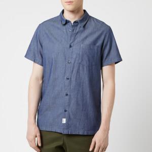 A.P.C. Men's Chemisette Janis Shirt - Indigo Delave