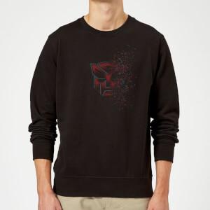Transformers Autobot Fade Sweatshirt - Black
