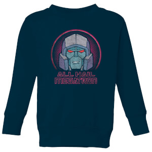 Transformers All Hail Megatron Kids' Sweatshirt - Navy