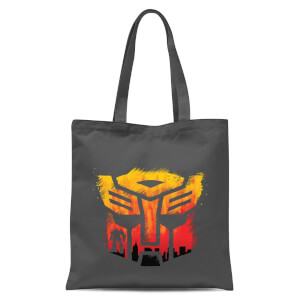Transformers Autobot Symbol Tote Bag - Grey