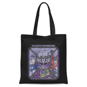 Transformers Decepticons Tote Tote Bag - Black