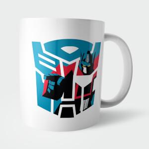 Tazza Transformers Autobot Decepticon