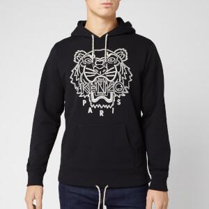 KENZO Men's Blanket Stitch Tiger Hoodie - Black