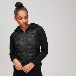 MP Elite Train Jacket - Black
