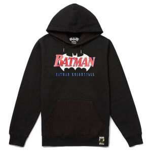 Batman 80th Anniversary 90s Knightfall Hoodie - Black
