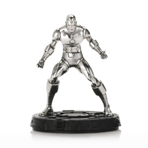 "Figurine Iron Man ""Invincible"" en étain Marvel - 12cm - Royal Selangor"