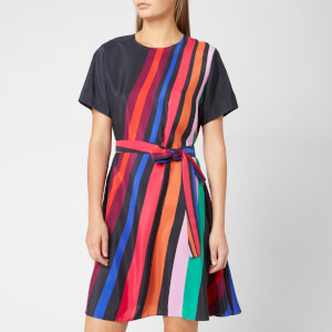 PS Paul Smith Women's Rainbow Stripe Tunic Dress - Multi