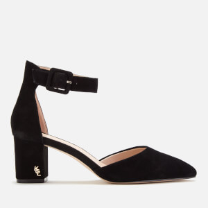 Kurt Geiger London Women's Burlington Suede Block Heels - Black