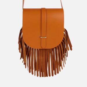 The Cambridge Satchel Company Women's Saddle Bag - Ochre/Vintage Suede