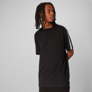 Logo Tape T-Shirt - Black