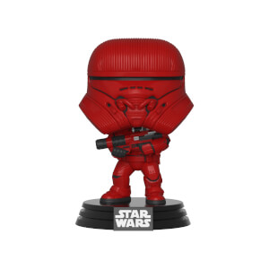 Figura Funko Pop! - Bruges Rocket Rojo - Star Wars Episodio IX: El Ascenso De Skywalker
