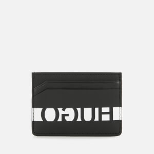 HUGO Men's U-Bahn Contrast Card Holder - Black/White