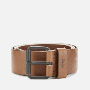 BOSS Men's Serge Modern Roller Belt - Tan