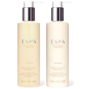 ESPA Bergamot and Jasmine Hand Collection