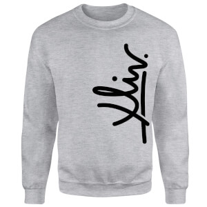 How Ridiculous XLIV Script Vertical Sweatshirt - Grey